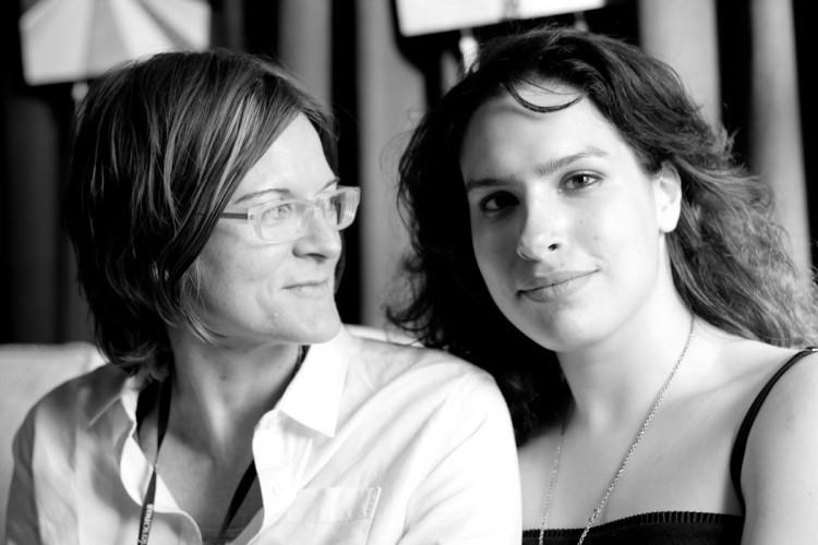 Desiree and her partner (photo courtesy of Sarah Deragon)